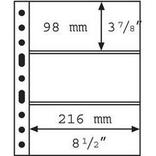 Лист к альбому Leuchtturm, Grande для банкнот, 3С. 308439