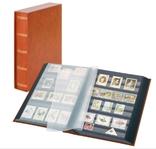 Кляссер Elegant с 60 чёрными страницами и защитной кассетой. 1169SK- H. Коричневый.