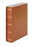 Кляссер Elegant с 60 чёрными страницами и защитной кассетой. 1169SK- H. Коричневый. фото 2