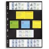 Лист к альбому Leuchtturm, Grande 2x5 полос 216 х 56 мм, черный, 5S. 312953 фото 2