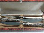 Набор из 3-х ножей. Мельхиор. photo 2