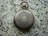 Часы карманные XIX век Швейцария серебро, фото №3