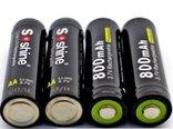 Аккумулятор 14500 Soshine 800mah 3,7V с защитой, фото №2