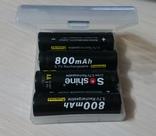 Аккумулятор 14500 Soshine 800mah 3,7V с защитой, фото №5