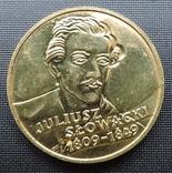 2 злотих 1999 Юліуш Словацький photo 1