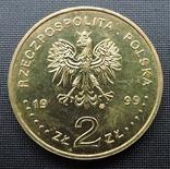2 злотих 1999 Юліуш Словацький photo 2