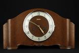 Каминные часы Junghans. 1937 год. Германия. (075)