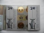 Річний набір обігових монет НБУ 2016 рік Годовой набор обиходных монет НБУ photo 10