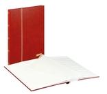 Кляссер Standard с 16 белыми страницами 230ММ Х 305ММ Х 15ММ. 1160 - R. Красный. фото 2