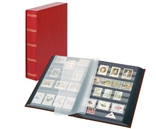 Кляссер Elegant с 60 чёрными страницами и защитной кассетой. 1169SK- R. Красный.