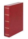 Кляссер Elegant с 60 чёрными страницами и защитной кассетой. 1169SK- R. Красный. фото 2