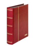 Кляссер Elegant с 60 чёрными страницами и защитной кассетой. 1169SK- R. Красный. фото 3