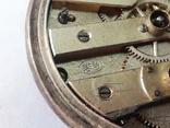 Часы в серебряном корпусе ключевка с клеймом., фото №3
