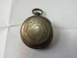 Часы в серебряном корпусе ключевка с клеймом., фото №4
