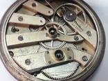 Часы в серебряном корпусе ключевка с клеймом., фото №5