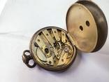 Часы в серебряном корпусе ключевка с клеймом.