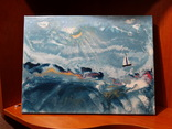 """Картина под названием """"Шторм на море"""", фото №3"""
