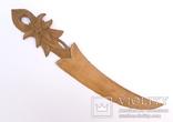 Старая рамка для фотографии с эдельвейсами + нож для бумаг ., фото №8