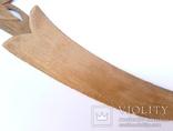 Старая рамка для фотографии с эдельвейсами + нож для бумаг ., фото №10