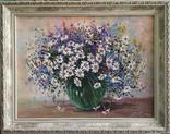 Полевые цветы автор Короткова Т.Г. холст масло 30х40, фото №3
