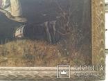 Репродукция. Птицелов с картины В. Перова (Москва 1962г.) photo 3
