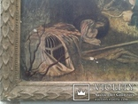 Репродукция. Птицелов с картины В. Перова (Москва 1962г.) photo 4