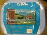 "Обертка (фантик) от шоколада ""Montblanc"" Дублин, Ирландия, фото №2"