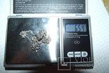 Цепочка 60 см (вес 6,54 гр., серебро 925 пр.), фото №7