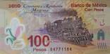 Мексика 100 песо 2010 г. photo 1