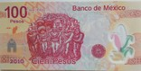 Мексика 100 песо 2010 г. photo 2