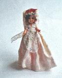 Кукла винтаж мини 9 см Бельгия, фото №2