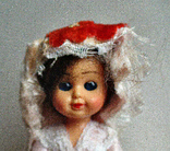 Кукла винтаж мини 9 см Бельгия, фото №5