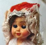 Кукла винтаж мини 9 см Бельгия, фото №6