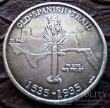 50 центів США 1935 р. Старий Іспанський шлях...( Ювілей, срібло). См. обсуждение. photo 2
