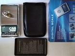 Весы карманные ювелирные до 1кг с шагом 0.1 грамма photo 1