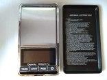 Весы карманные ювелирные до 1кг с шагом 0.1 грамма photo 3