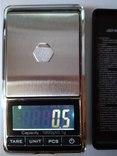 Весы карманные ювелирные до 1кг с шагом 0.1 грамма photo 5