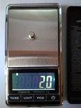 Весы карманные ювелирные до 1кг с шагом 0.1 грамма photo 6