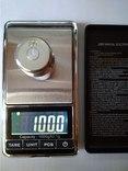 Весы карманные ювелирные до 1кг с шагом 0.1 грамма photo 8