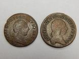 2 монеты по 1/4 крейцера 1781/82 г.г. Австрия photo 2