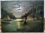 Ночь, Н.Федоров холст масло подпись 61 на 80 см photo 1