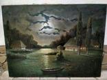 Ночь, Н.Федоров холст масло подпись 61 на 80 см photo 5