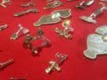Панно серебряных фибул, 90шт photo 9