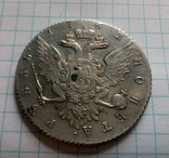 Монета рубль 1762г. спб нк photo 6