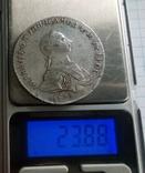 Монета рубль 1762г. спб нк photo 11