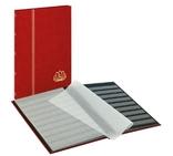 Кляссер серии LOTOS с 16 чёрными страницами. 5701 - R. Красный.