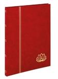 Кляссер серии LOTOS с 16 чёрными страницами. 5701 - R. Красный. фото 2