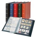 Кляссер серии Elegant с 60 чёрными страницами. 1169 S - R. Красный. фото 2