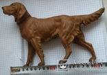 Большой старинный собачка в покраске., фото №2