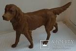 Большой старинный собачка в покраске., фото №5